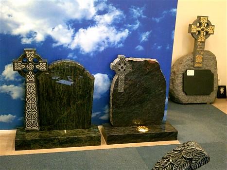 Celtic Cross Headstones